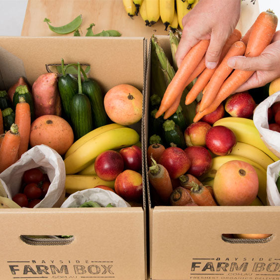 SPECIAL GIFT / ONE-OFF ORGANIC FARM BOXES