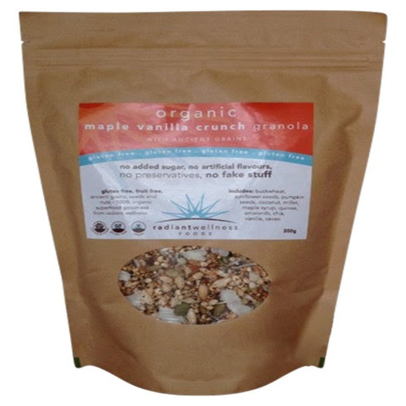 RADIANT WELLNESS - GF HAND-MADE GRANOLA