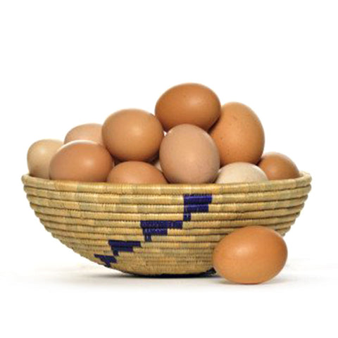 Dozen organic or biodynamic (DA certified) eggs