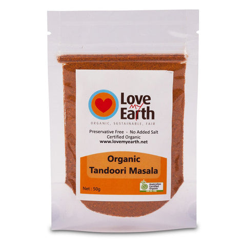 LOVE MY EARTH ORGANIC TANDOORI MASALA