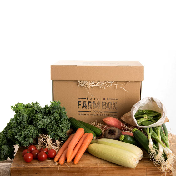 THE SMALL VEG-ONLY ORGANIC LIFESTYLE FARM BOX