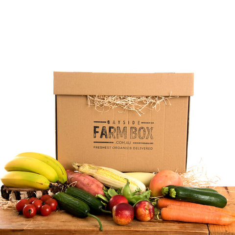 THE SMALL MIXED ORGANIC LIFESTYLE FARM BOX