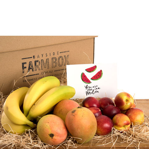 THE SPECIAL GIFT / ONE-OFF ORGANIC FRUIT FARM BOX