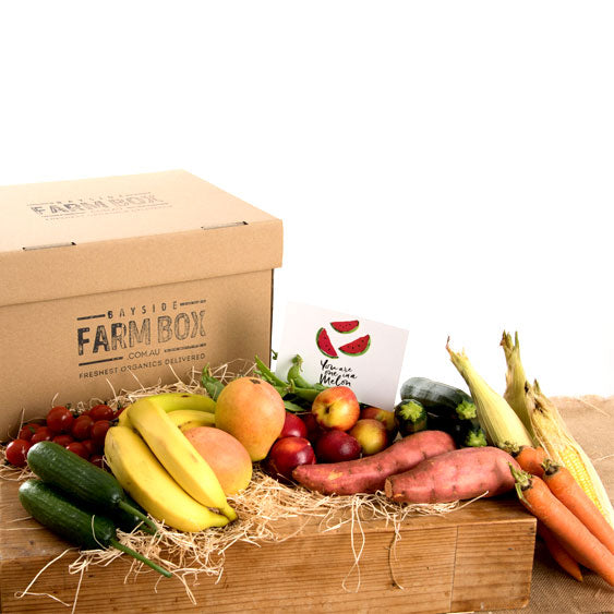 THE COUPLES ORGANIC SPECIAL GIFT / ONE-OFF FARM BOX