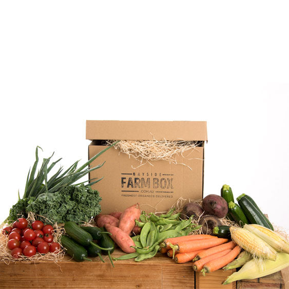 THE LARGE VEG-ONLY ORGANIC LIFESTYLE FARM BOX