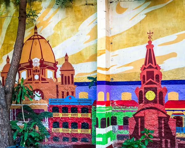Mural of Cartagena