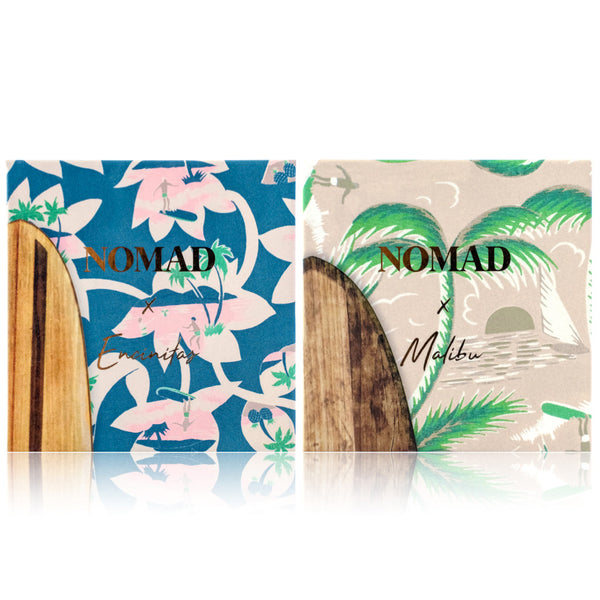 NOMAD x California Encinitas & Malibu Surf Shack Eyeshadow Palettes - Outside