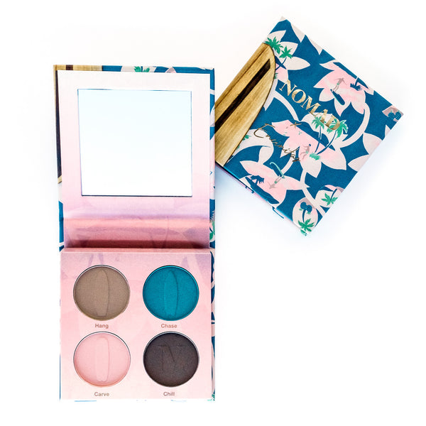NOMAD x California Encinitas Surf Shack Intense Eyeshadow Palette - Inside & Outside