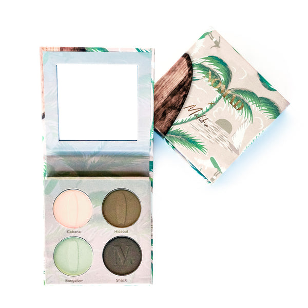 NOMAD x California Malibu Surf Shack Intense Eyeshadow Palette - Inside & Outside