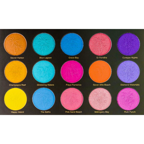 NOMAD x Antilles Intense Eyeshadow Palette - Shades