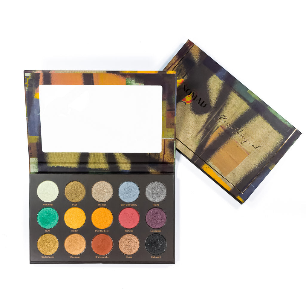 NEW NOMAD x Berlin Underground Intense Eyeshadow Palette