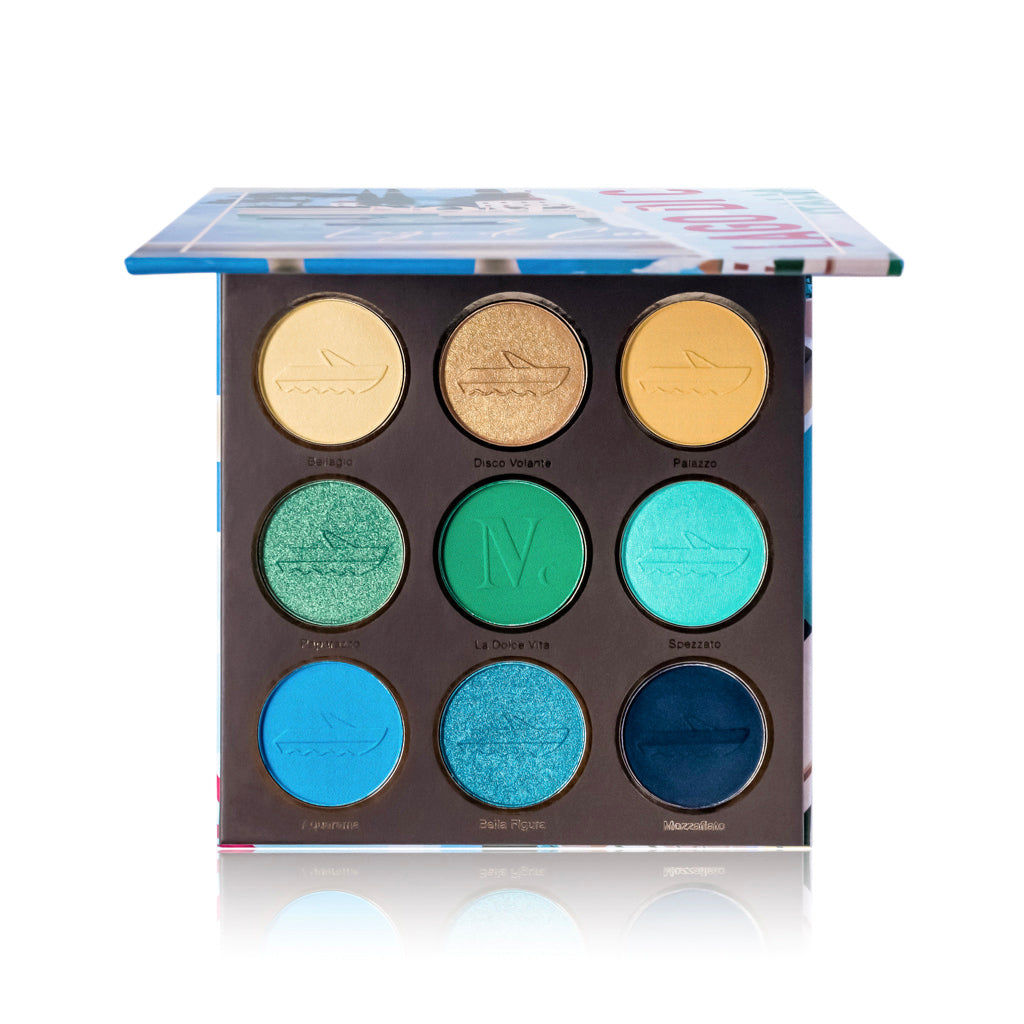 NOMAD x Lake Como Intense Eyeshadow Palette