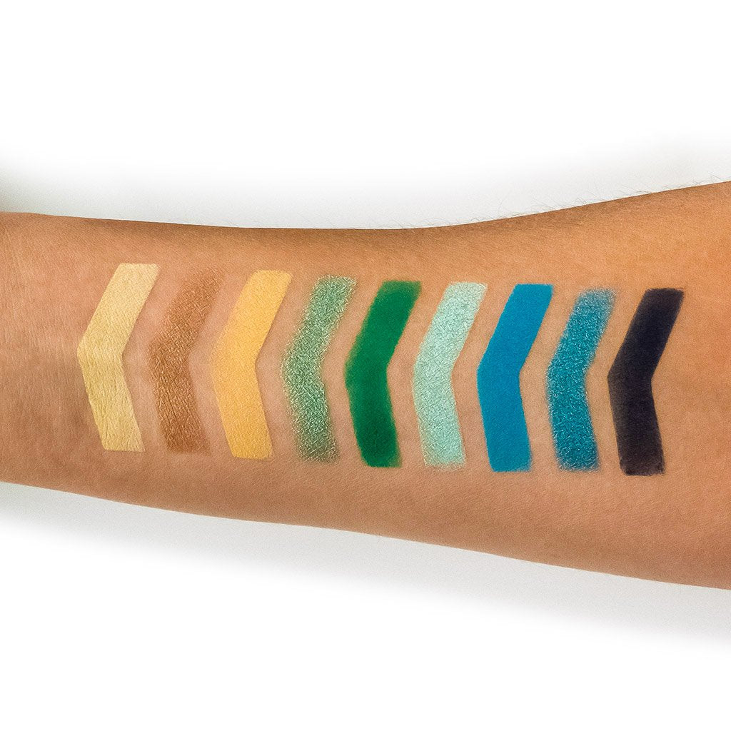 NOMAD x Lake Como Intense Eyeshadow Palette Swatches
