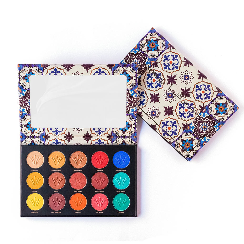 NOMAD x Marrakesh Medina Intense Eyeshadow Palette