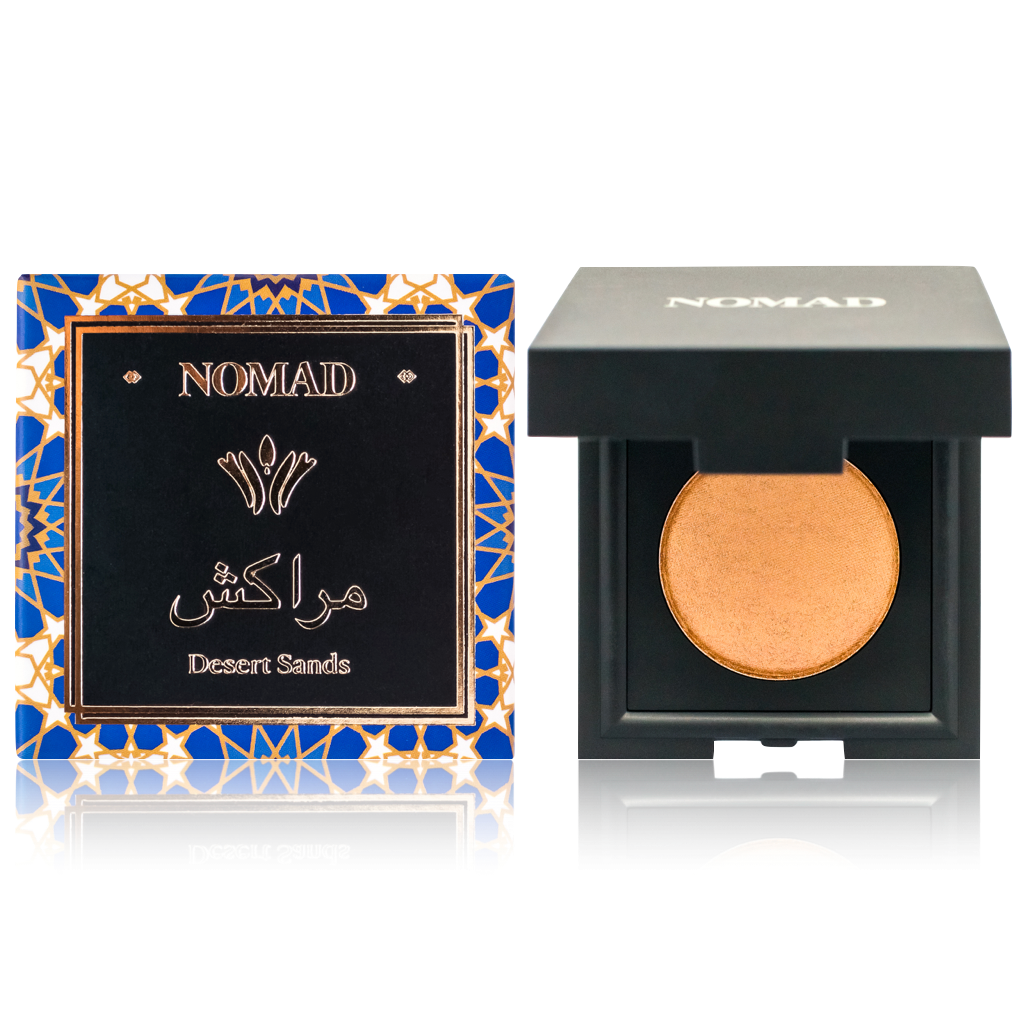 NOMAD Shadow Case with Holiday Collection Eyeshadow Set