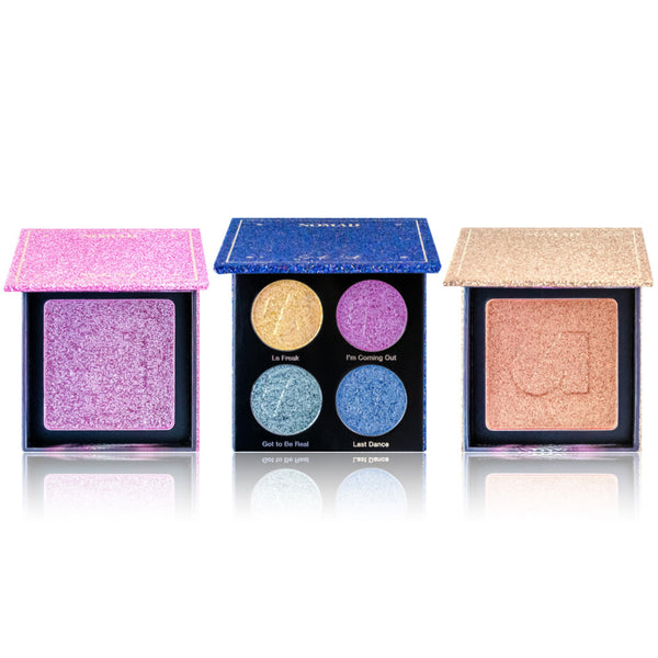 NOMAD x New York Studio 54 Collection - Discoshadow Palette & 2 Discolighter
