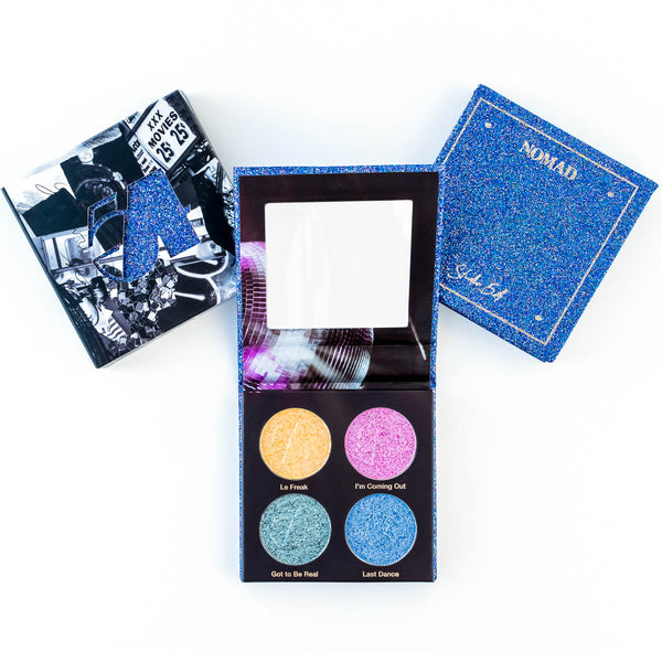 NOMAD x New York Studio 54 Discoshadow Palette - Inside & Outside