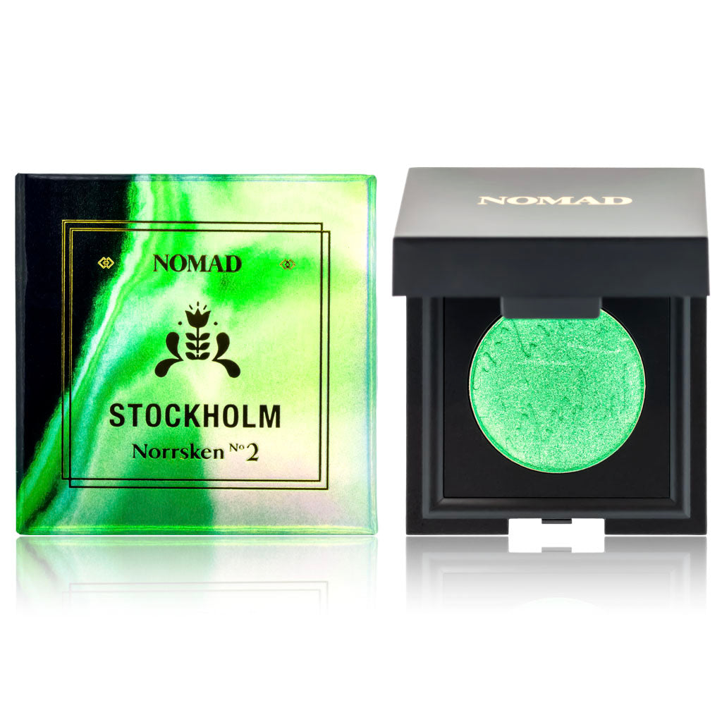 NOMAD x Stockholm Northern Lights Intense Eyeshadow 4-Piece Set