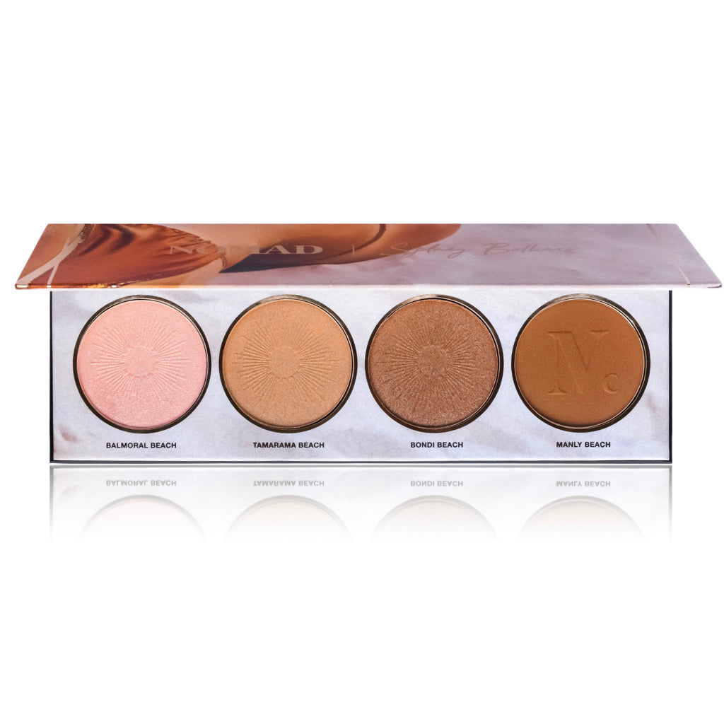 NOMAD x Sydney Bathers Kiss Of Sun Highlighter/Bronzer/Contour Palette