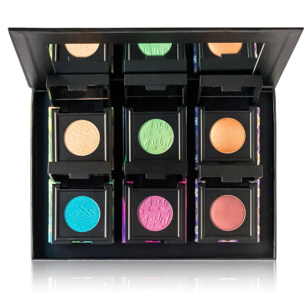 NOMAD Shadow Case with 6 Intense Eyeshadows