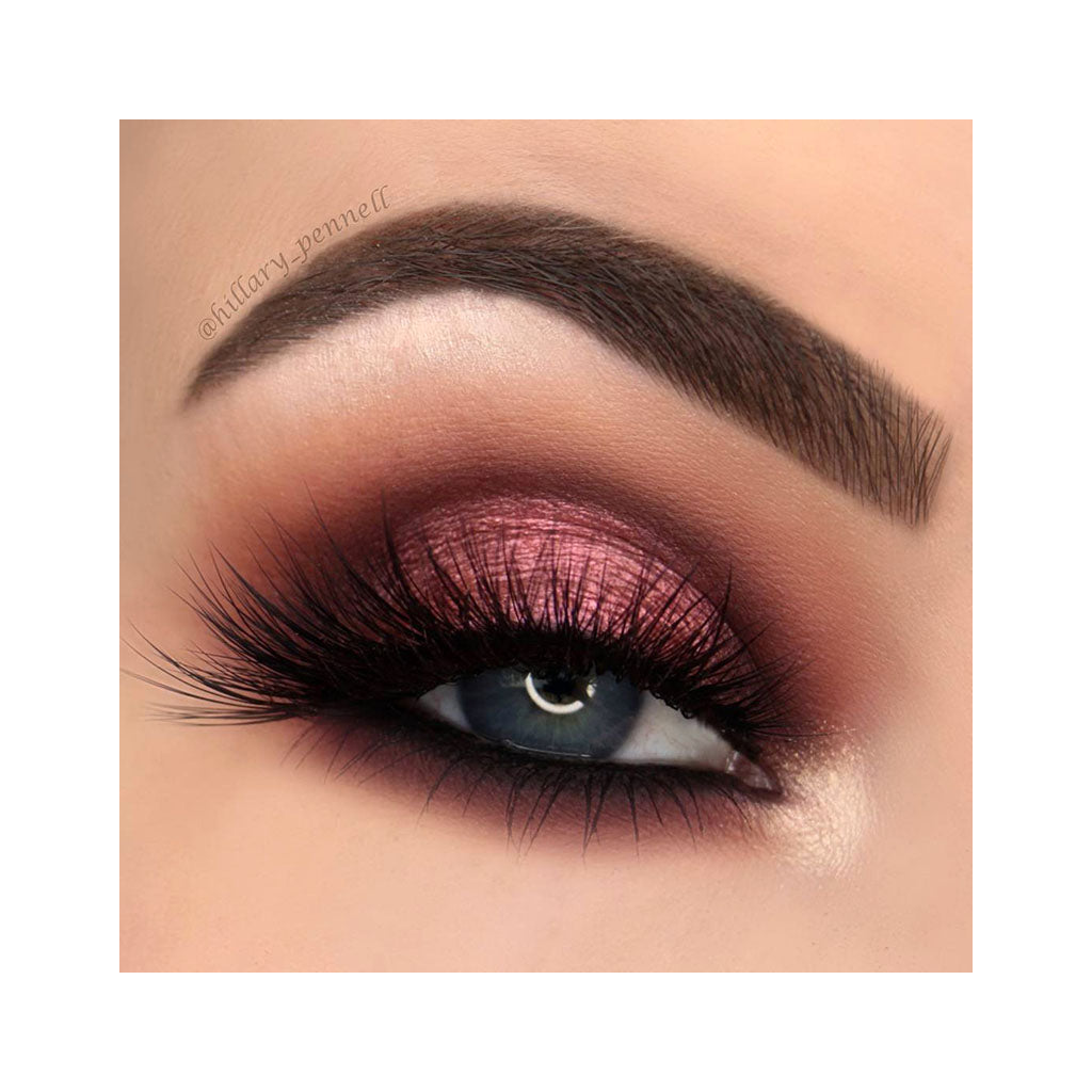 Beauty look created with the NOMAD x Marrakesh Intense Eyeshadow in Spice Market, Shimmer Rich Copper