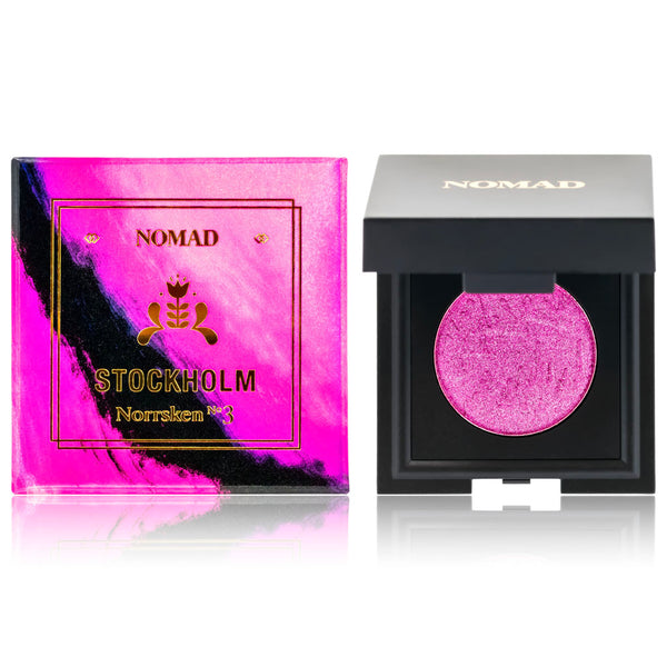 NOMAD x Stockholm Nordic Lights Intense Eyeshadow in Norrsken No3, Galactic Plum