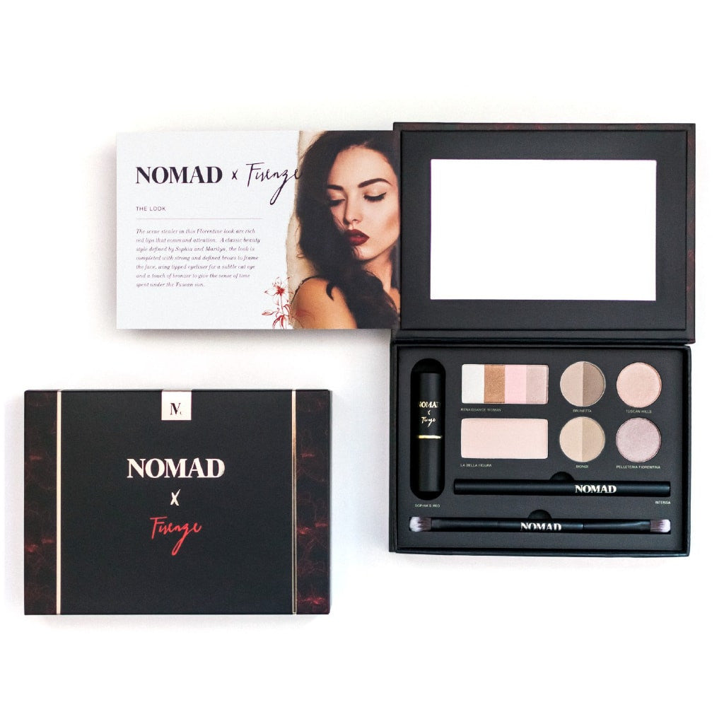 Nomad X Florence All In One Makeup Palette With Lipstick Eyeliner
