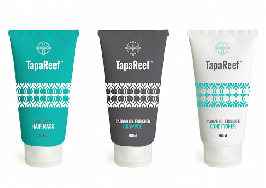 TapaReef Pre and Post Swim Hair Care