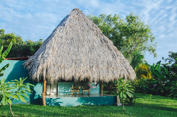 Cabana at El Coco Loco.  Photo by Alice Ward.