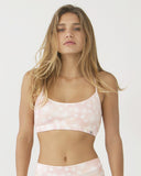 Flower Print Bra Top (MOT-S3)