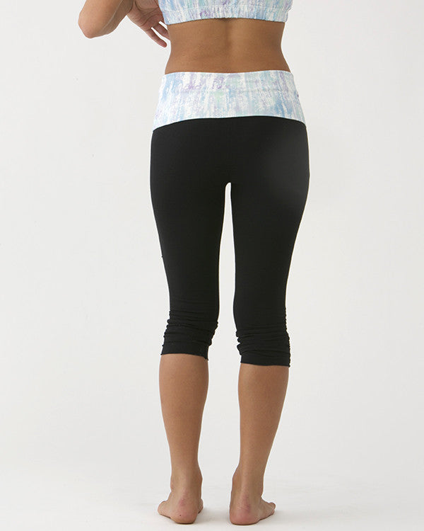 Tie-Dye Print Leggings (Short) MOB-R9