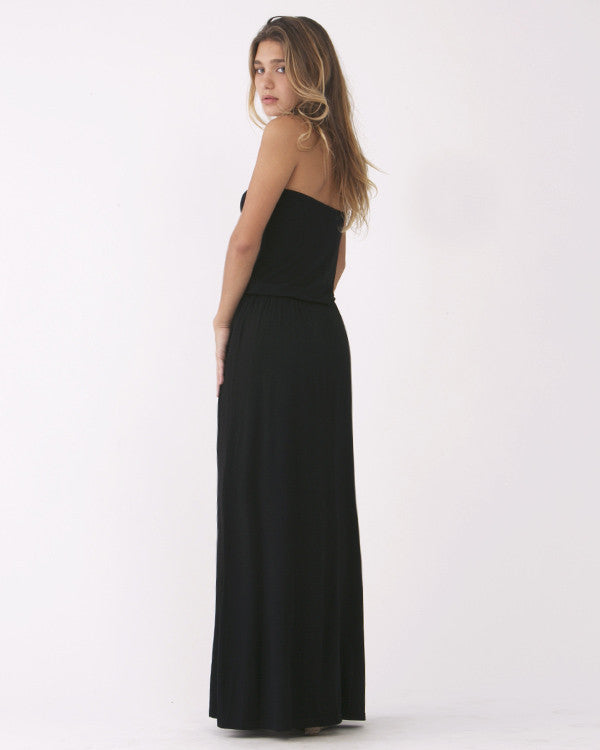 Solid Tube Maxi Dress (MOD-6)