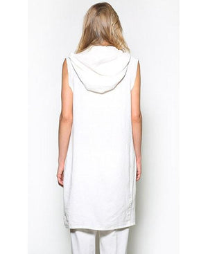 Amber Women's Hooded Vest - Sita Couture