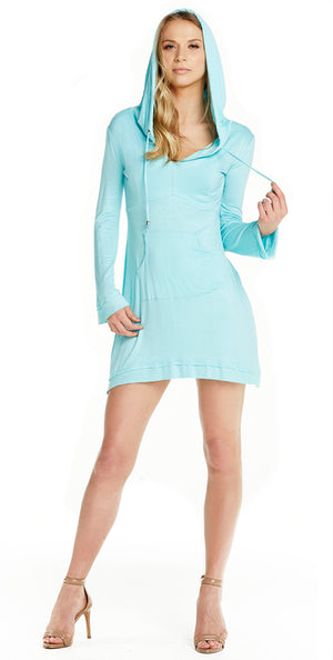 Earth Mermaid Hoodie Dress