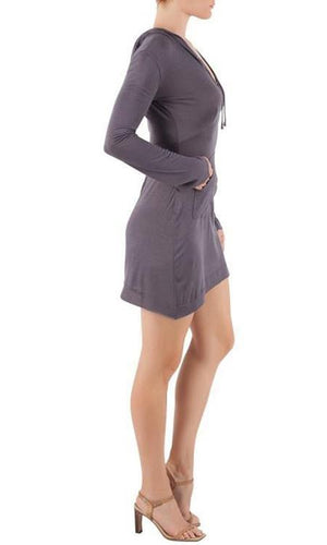 Earth Mermaid Hoodie Dress - Sita Couture