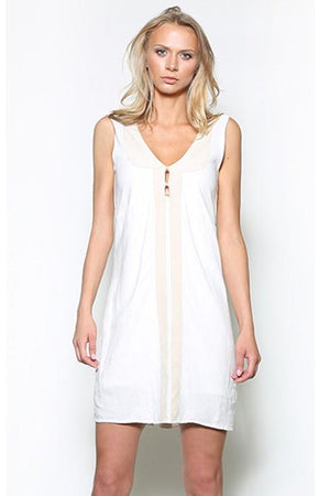 Women's Rebecca Linen Midi Dress - Sita Couture