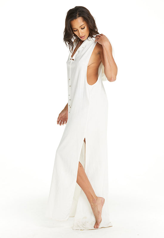 Kiara Maxi Hooded Dress