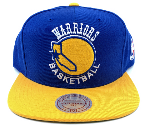 89131f3fb7928 Mitchell   Ness XL Logo Snapback Golden State Warriors