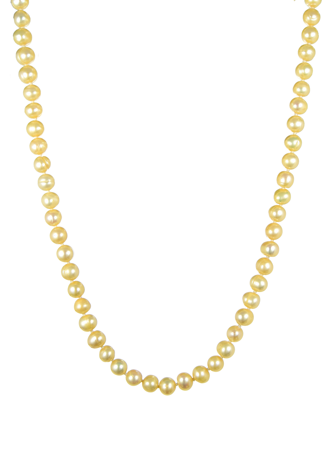 "Freshwater Pearl Necklace 60"" - Anny Gabriella NY"