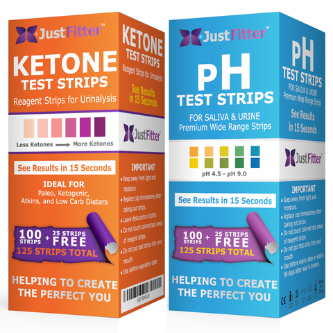 pH and Ketone Test Strips Bundle Pack