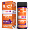 pH Test Strips (125 strips) and Ketone Test Strips (125 strips) Bundle Pack