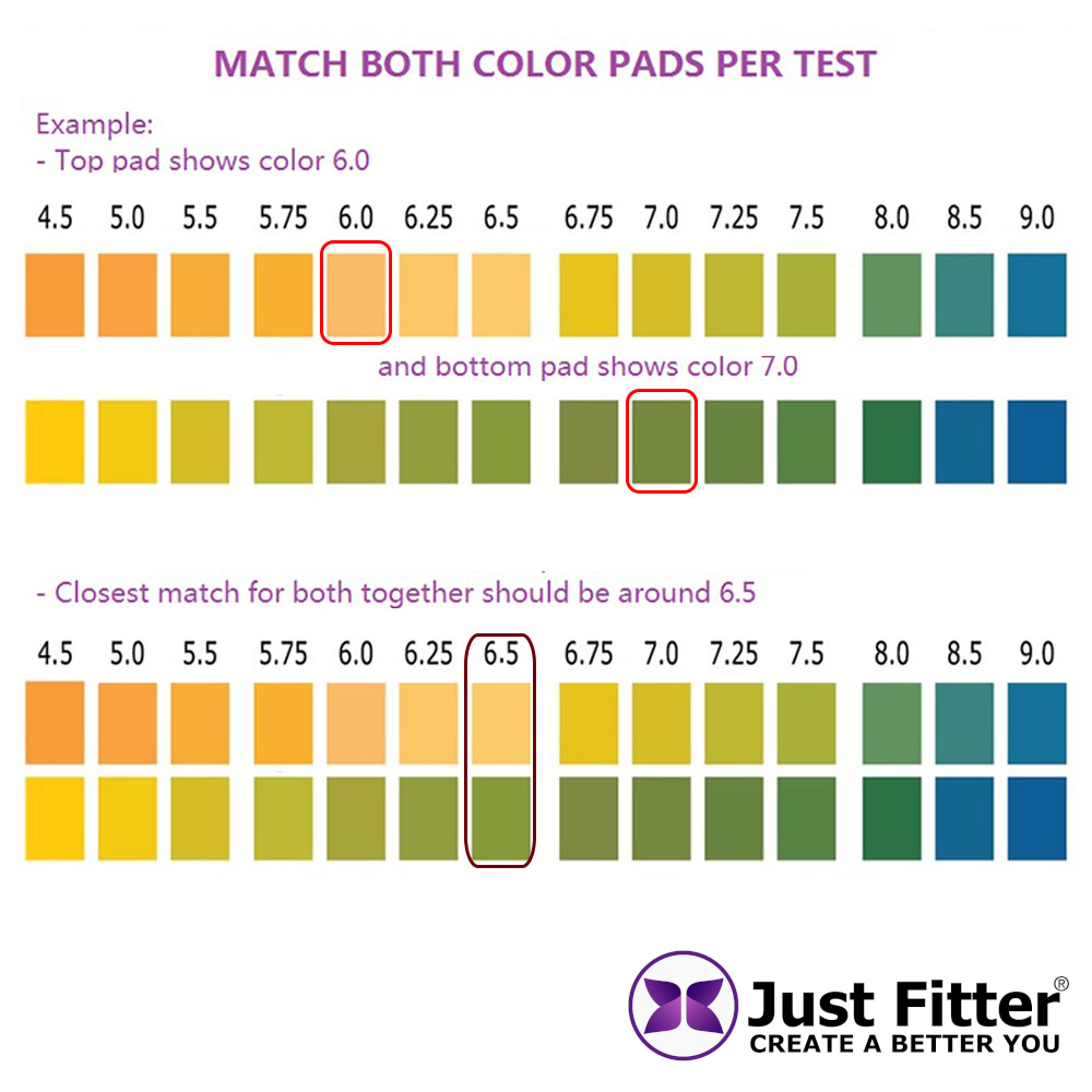 pH Test Strips for Testing Alkaline and Acid Levels in the Body