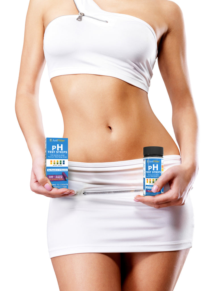 pH Test Strips (2 bottles). 125 strips per bottle (100 + 25 free). For Testing Alkaline and Acid Levels in the Body.