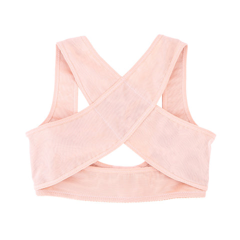 Women Therapy Posture Corrector Body Back Pain Belt Brace Shoulder Support Vest Elastic Brace Shoulder Support Vest