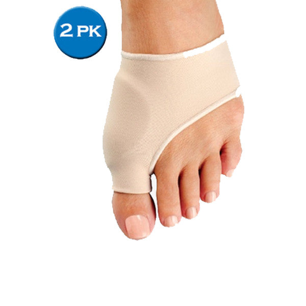 Bunion Protector and Detox Sleeve with EuroNatural Gel (2 Pack)