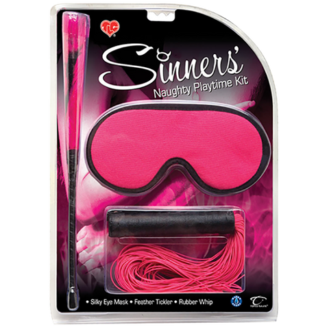 CLOSEOUT - Sinners' Naughty Playtime Kit - Topco Wholesale