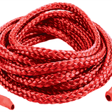 Japanese Silk Love Rope 16 ft. (5M), Red - Topco Wholesale