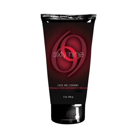 69 Lick Me Cherry, Female Enhancement Cream, 2 oz. (56 g) Tube - Topco Wholesale