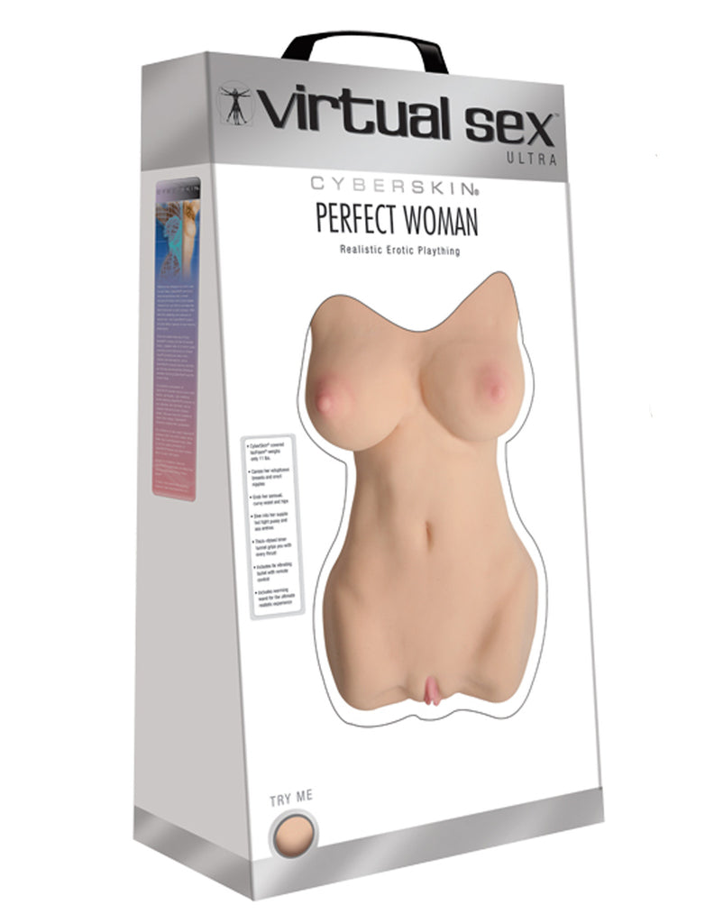 CyberSkin Virtual Sex Ultra Perfect Woman, Asian - Topco Wholesale  - 1