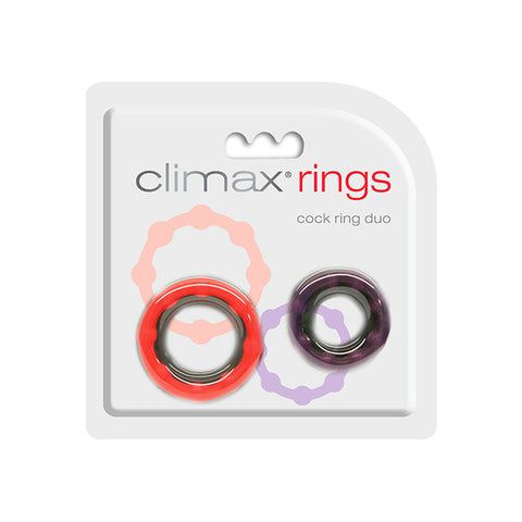 Climax® Rings, Cock Ring Duo - Topco Wholesale